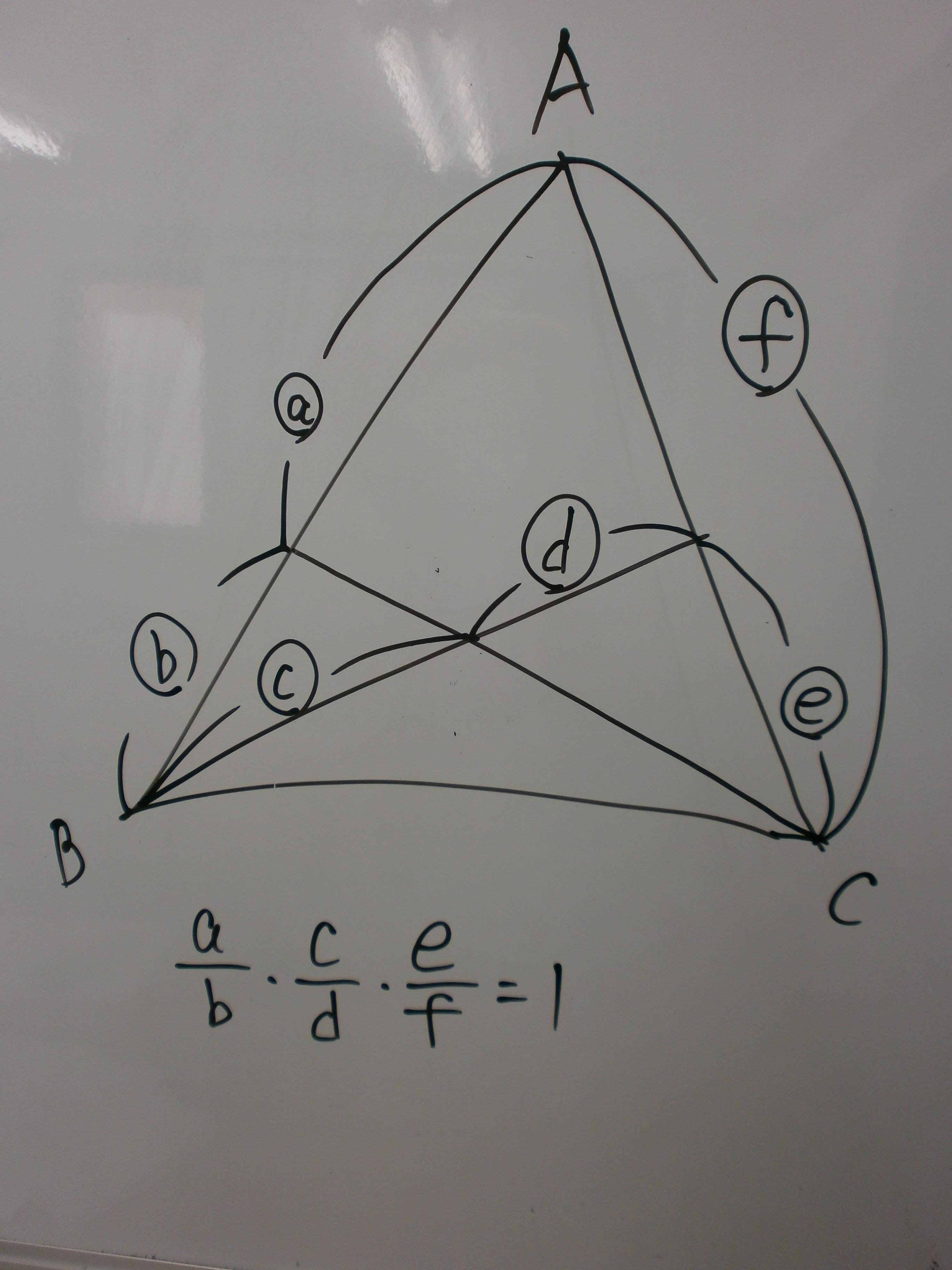 メネラウスの定理